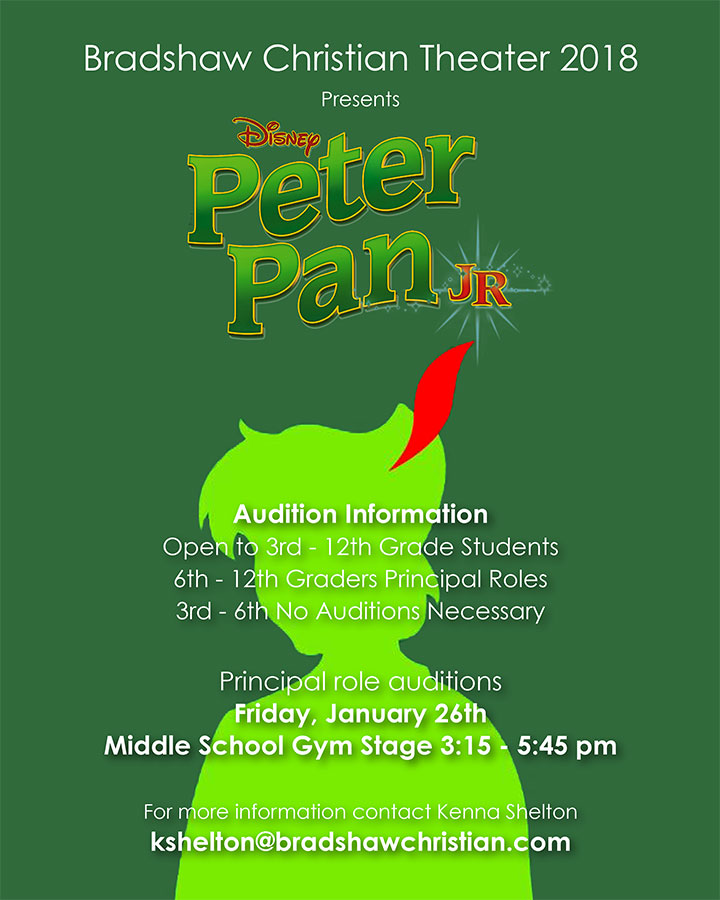 Peter Pan Auditions