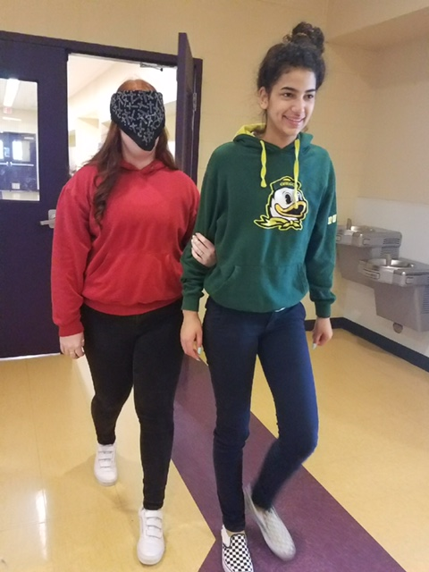 ASL Students Experience the World of Deaf and Blind