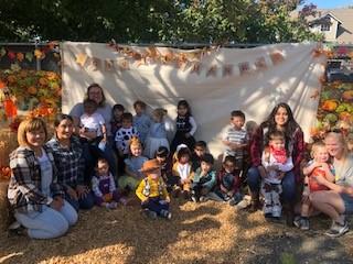 Preschool's Joeys' Class Explore God's Harvest