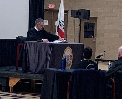 BCHS One of Only 18 California Schools to Host Live DUI Court