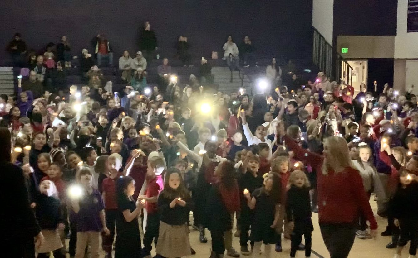 """Elementary Welcomes New Year-""""Let There Be Light!"""""""