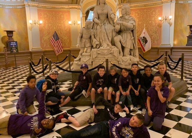 BCS Third Grade Visits the Capitol