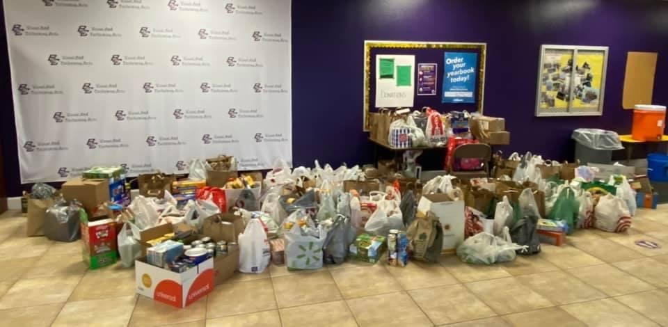 BCS Elementary Takes Spirit of Christmas to Elk Grove Food Bank